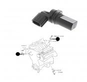 Crankshaft Position Sensor Nissan Elgrand E51 VQ35DE 3.5i 2002-2004