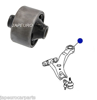 LEXUS RX300 RX330 RX350 FRONT LOWER BOTTOM WISHBONE TRACK CONTROL ARM BUSHES x4