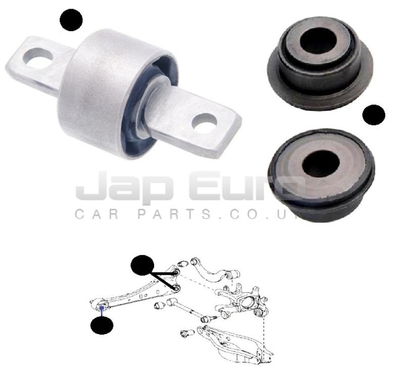 Buissons Pour Toyota RAV4 00-05 Avant Inférieur Droit O//S Wishbone Track Control Arm