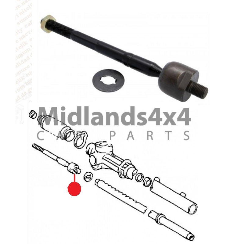 For TOYOTA PRIUS 1.8 VVTi ZVW30 09/> OUTER STEERING TIE TRACK ROD END