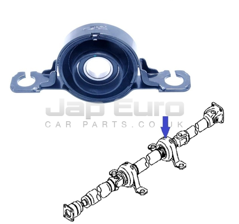 FOR MITSUBISHI L200 2.5 TD Di-D 06-12 PROPSHAFT CENTER BEARING SUPPORT