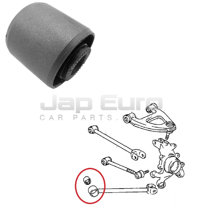 Arm Bushing For Rear Rod For Toyota Chaser Gx93 4Wd 1992-1996