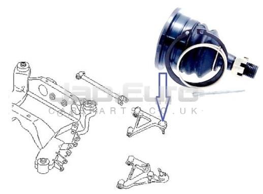 Ball Joint Rear Upper Arm Nissan Serena C23 LD20 2.0 D LX SLX 4Dr 1993 -1995
