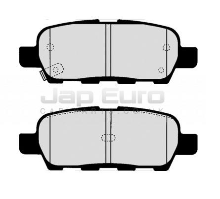 Brake Pad Set - Rear Nissan Elgrand E51 VQ25DE 2.5i 2002-2004