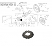 Timing Chain Crankshaft Gear Pulley
