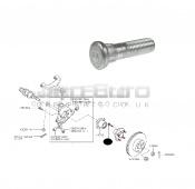 Rear Wheel Bolt / Lug Nut Stud